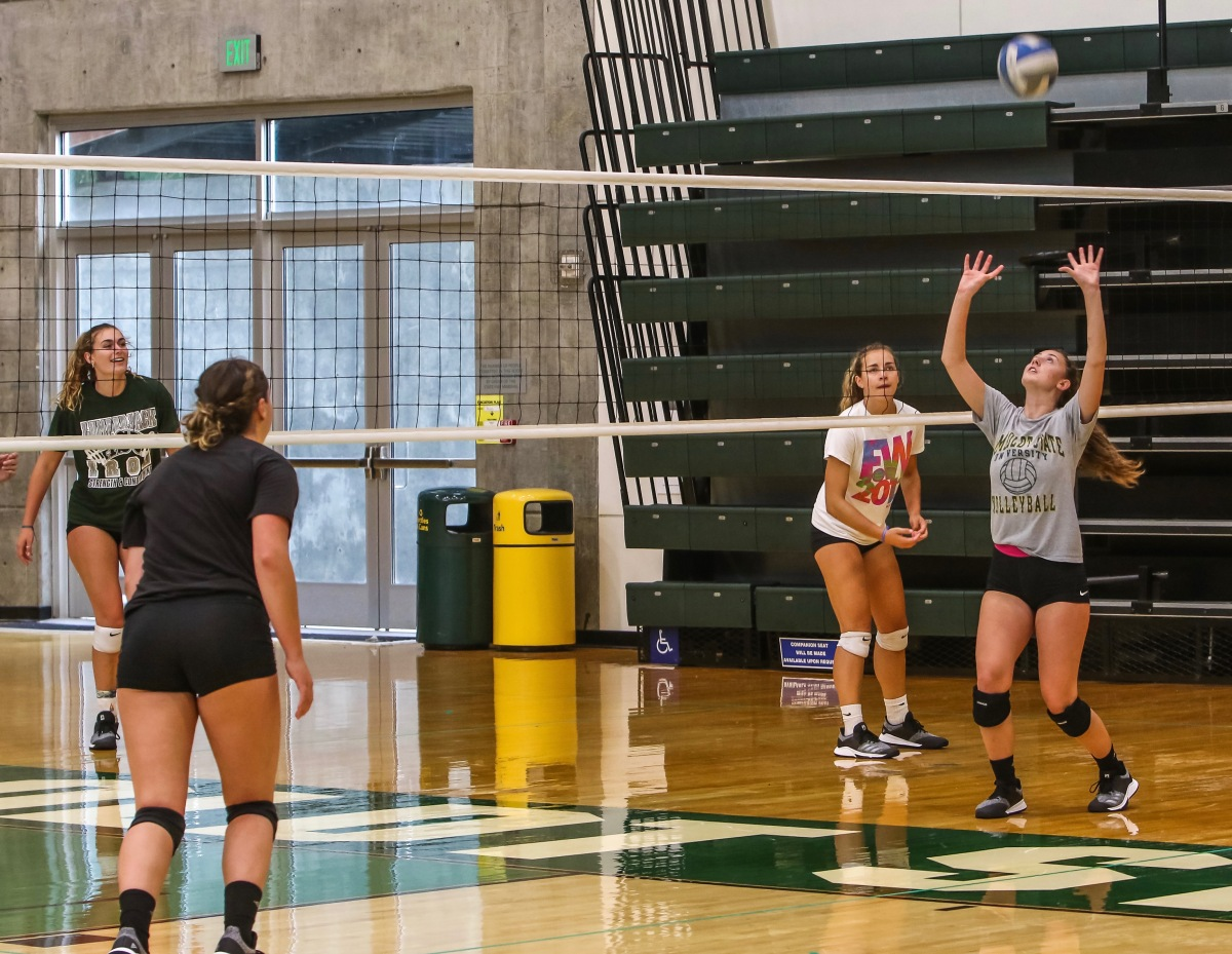 Jacks To Open Volleyball Season On Thursday
